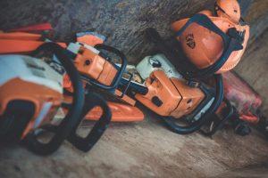 orange power tools